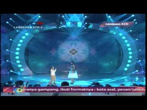 Jojo Idol Jr feat Erie Suzan Laksmana Raja di Laut - Gerbang KDI 2015 (19/4)