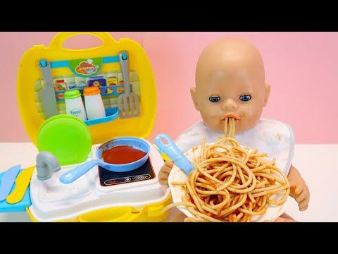 Голодная Беби Бон Как Мама Готовила Спагетти для Куклы  Бебибон Мультик для детей 108мама тв