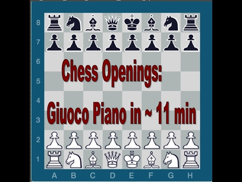 Chess Openings | Giuoco Piano in ~10 min