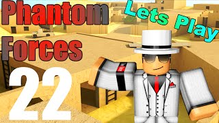 [ROBLOX: Phantom Forces] - Lets Play w/ Friends Ep 22 - Trying Out New Guns!