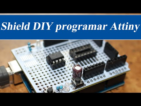 Shield DIY programar Attiny | RincónIngenieril con GearBest