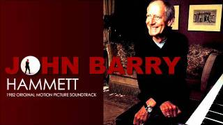 JOHN BARRY  'Hammett'  Original Motion Picture Soundtrack  1982