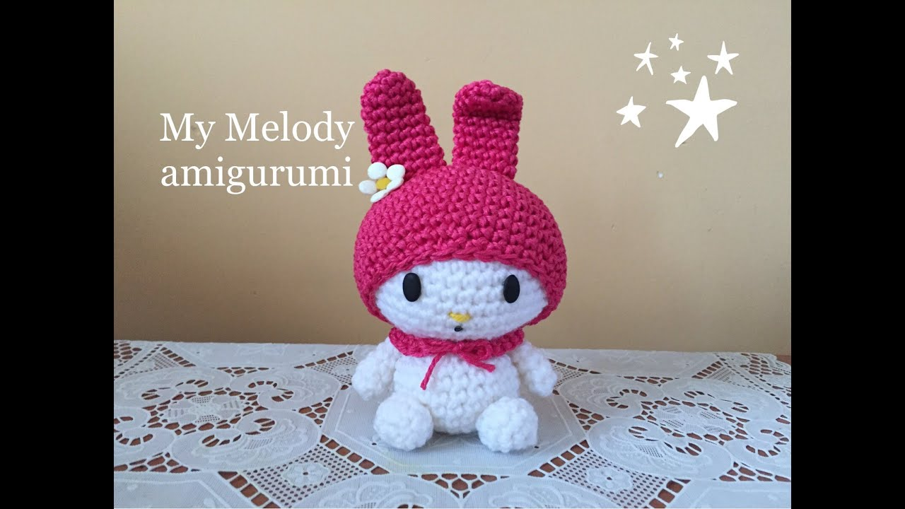 AMIGURUMIS: MINI HELLO KITTY paso a paso | Crochet amigurumi ... | 720x1280
