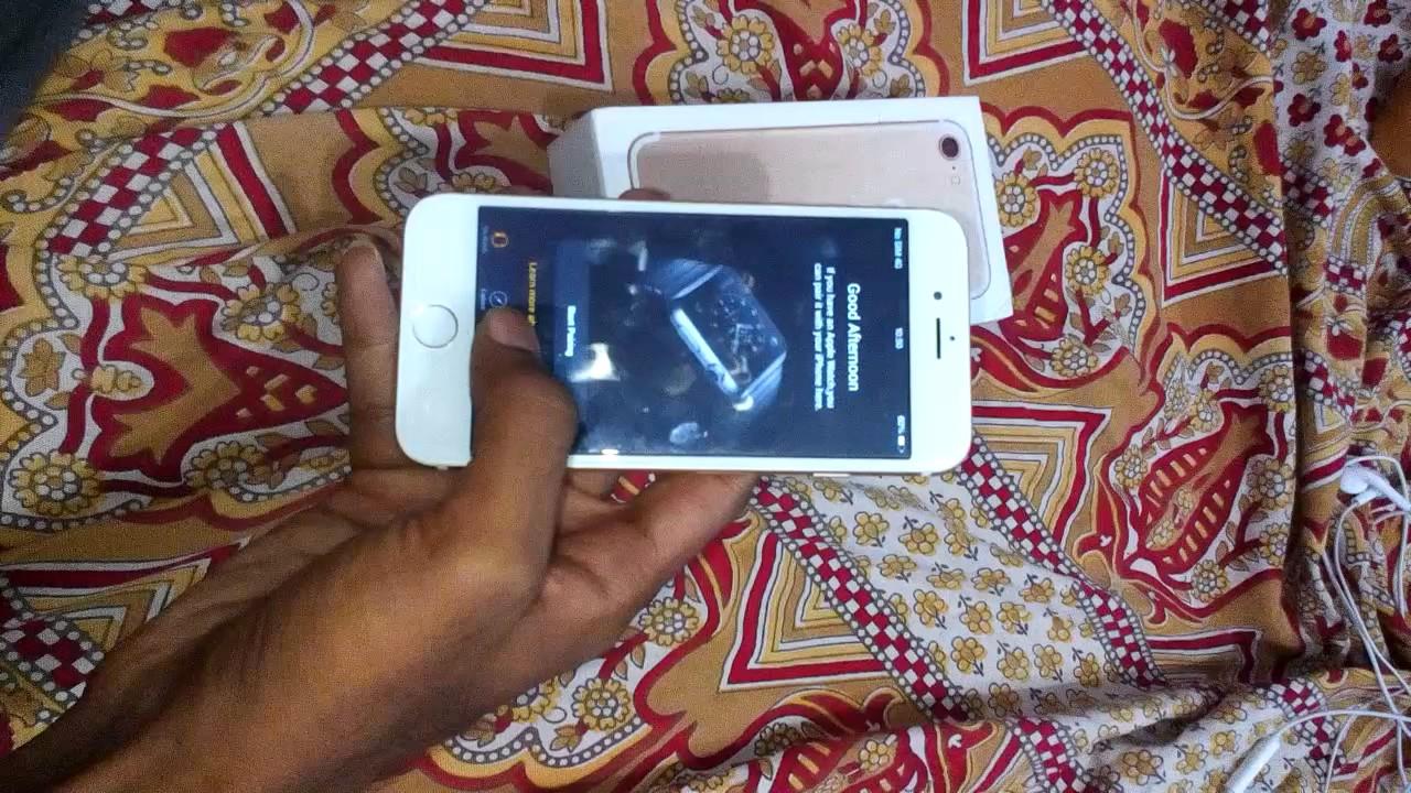 iPhone 7 64gb high quality Dubai clone - YouTube