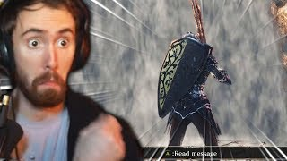 Asmongold Finishes Dark Souls 3 & Reacts To ALL Endings!