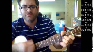 """How to play """"Good Luck Charm"""" by Elvis on acoustic guitar"""