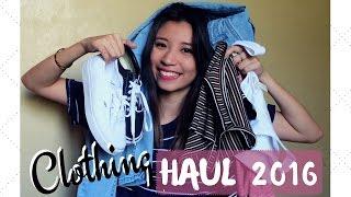 PH CLOTHING HAUL 2016! (Forever21, Pull & Bear, Topshop & Vans!)   Ann V