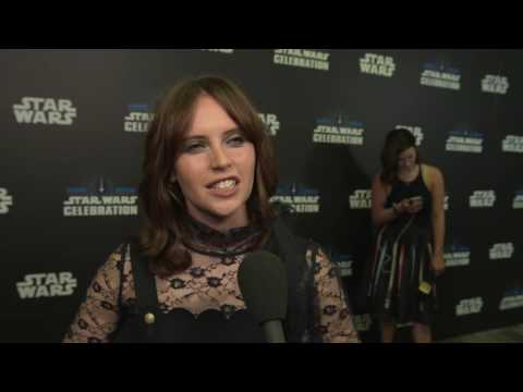 "Rogue One: A Star Wars Story: Felicity Jones ""Jyn Erso"" Celebration Europe Interview"