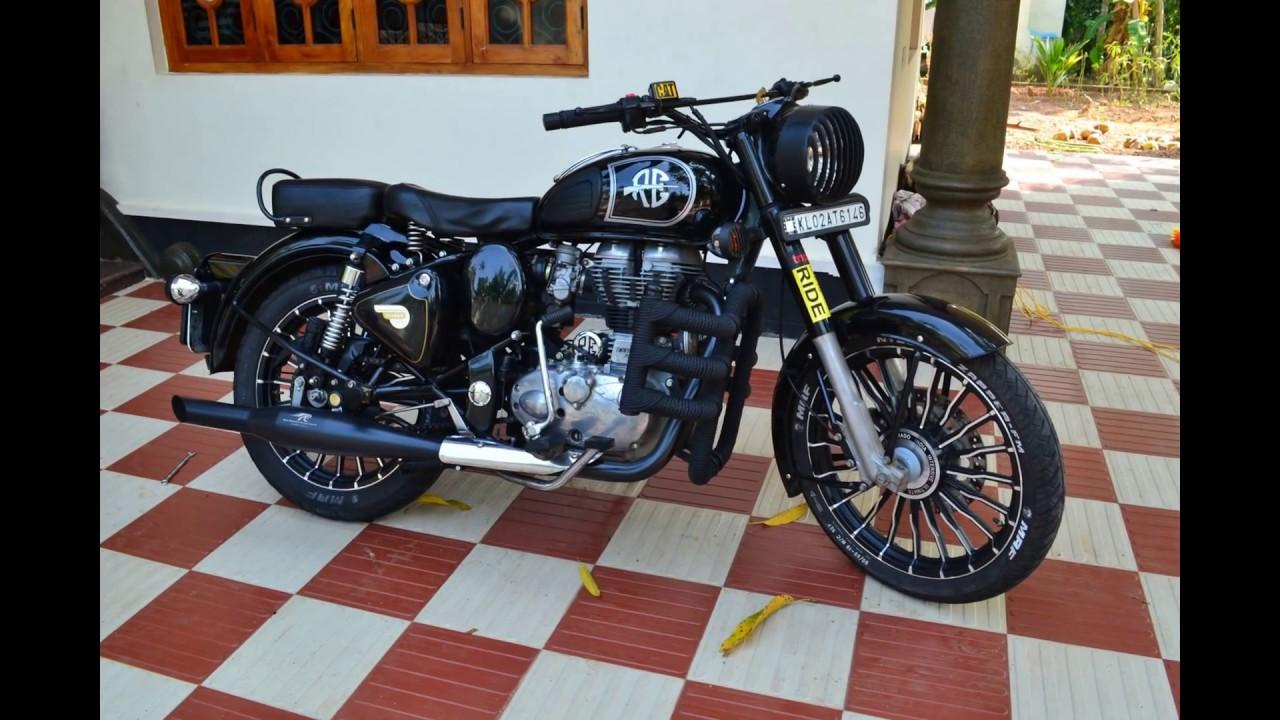 Hd Bullet Bike Wallpaper Modified Royal Enfield Classic 350 Part 1 Youtube