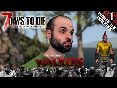 7 DAYS TO DIE M01 | NUEVA TEMPORADA: WAR OF THE WALKERS | Gameplay Español