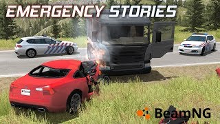 "Emergency Stories [3] (Short Stories) - BeamNG Drive - ""Car VS Truck"""