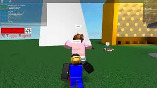 Playing R15 Rig RagDoll With Reap3r511 and cyberface44 (Roblox)