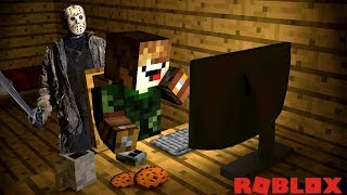 I'M OUT of TIME!! JASON IS COMING (ROBLOX FLEE THE FACILITY)