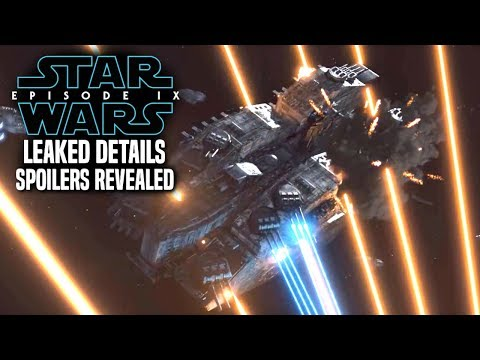 Star Wars Episode 9 Leak! Spoilers Revealed! (WARNING) Star Wars News