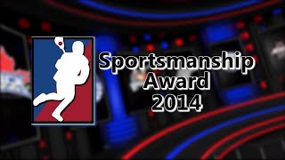2014 NLL Sportsmanship Award finalists: Garrett Billings, Curtis Knight & Shawn Williams