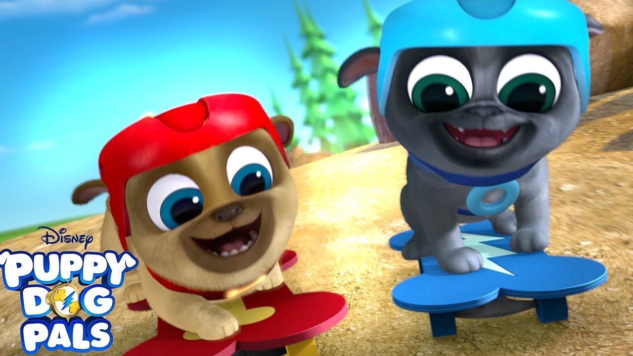 Feels Like We Re Flying Music Video Puppy Dog Pals Disney Junior Youtube