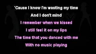 Miley Cyrus - Goodbye (Karaoke) On-Screen Lyrics