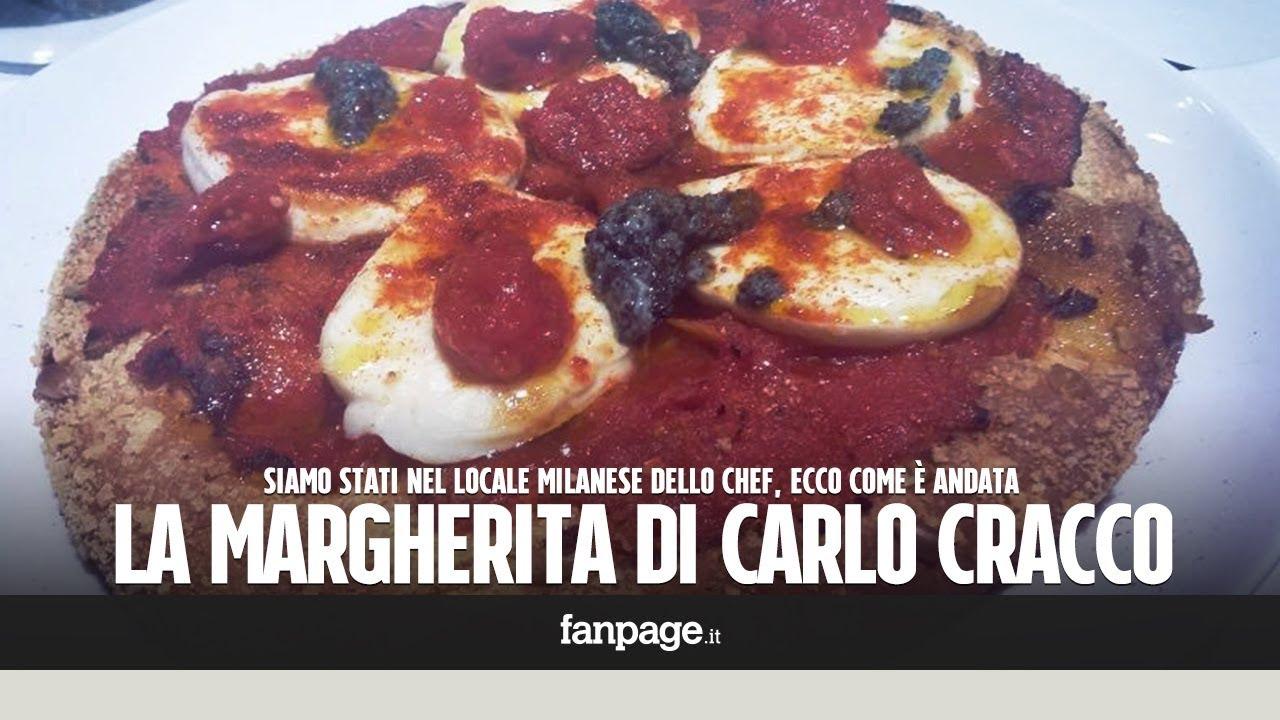 Abbiamo provato la pizza margherita di Carlo Cracco ecco come è andata