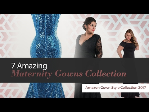 Amazing Maternity Gowns Collection Amazon Gown Style Collection