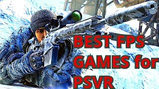 Top 11 FPS PlayStation VR Games of 2018 \ ( PS4 FPS Games VR 2018 ) \ shooters PSVR in 2018 🐳🤙👈