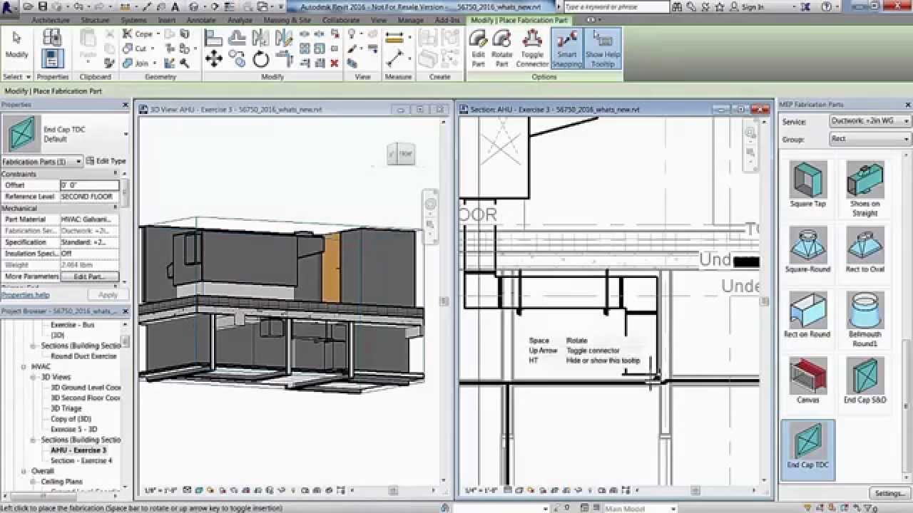 Revit 2016 Autodesk MEP Content for Fabrication