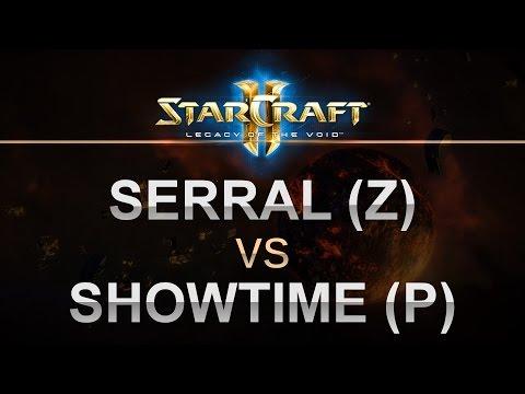 StarCraft 2 - LOTV 2017 - Serral (Z) v ShoWTimE (P) on Echo