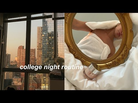 COLLEGE NIGHT ROUTINE 2019