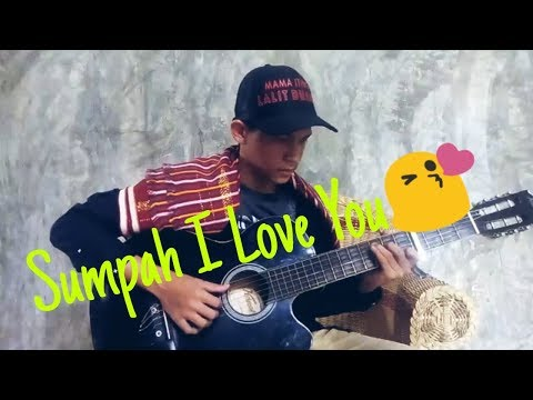 (Lagu Karo)- Amin Barus -  Sumpah I Love You | Frans Ginting Fingerstyle _Guitar_Fingerstyle
