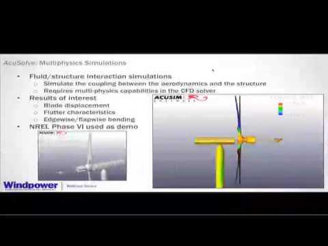Improving Wind Turbine Design Through Advanced Simulation Techniques (Webinar)