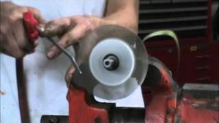 Homemade turbine wheel for micro jet engine