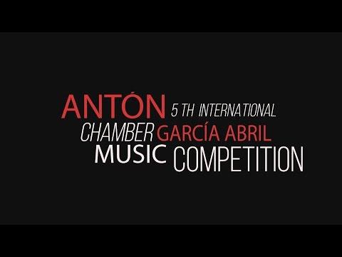 Entrega de premios 5º Concurso Antón García Abril.