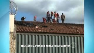 BALANÇO GERAL - Rebelião em presídio acaba com 2 mortos