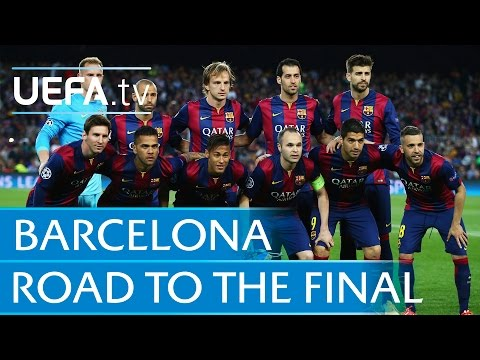 Barcelona highlights: See how Messi and co made it to the final
