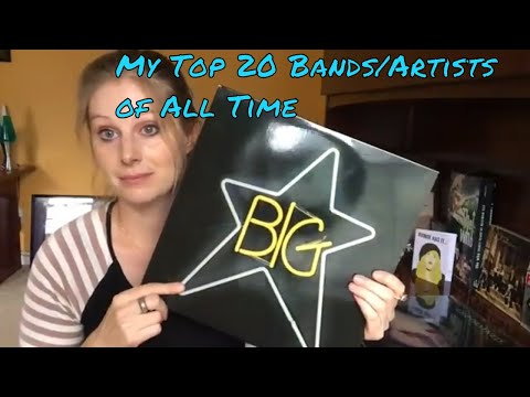My Top 20 Bands/Artists of All Time