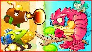 МНОГО ПУШЕК Растения против зомби 2 от Фаника Plants vs zombies 2 (179)