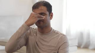 Yoga Breathing for Stress Relief with Sharath Jois - Nadhi Shodhana