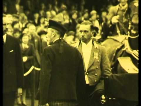 King George V 1920's to 1930s footage FLASHSCAN by Videondvd