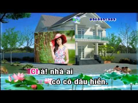 [Karaoke Nhạc Sống Full HD] Đám Cưới Trên Đường Quê