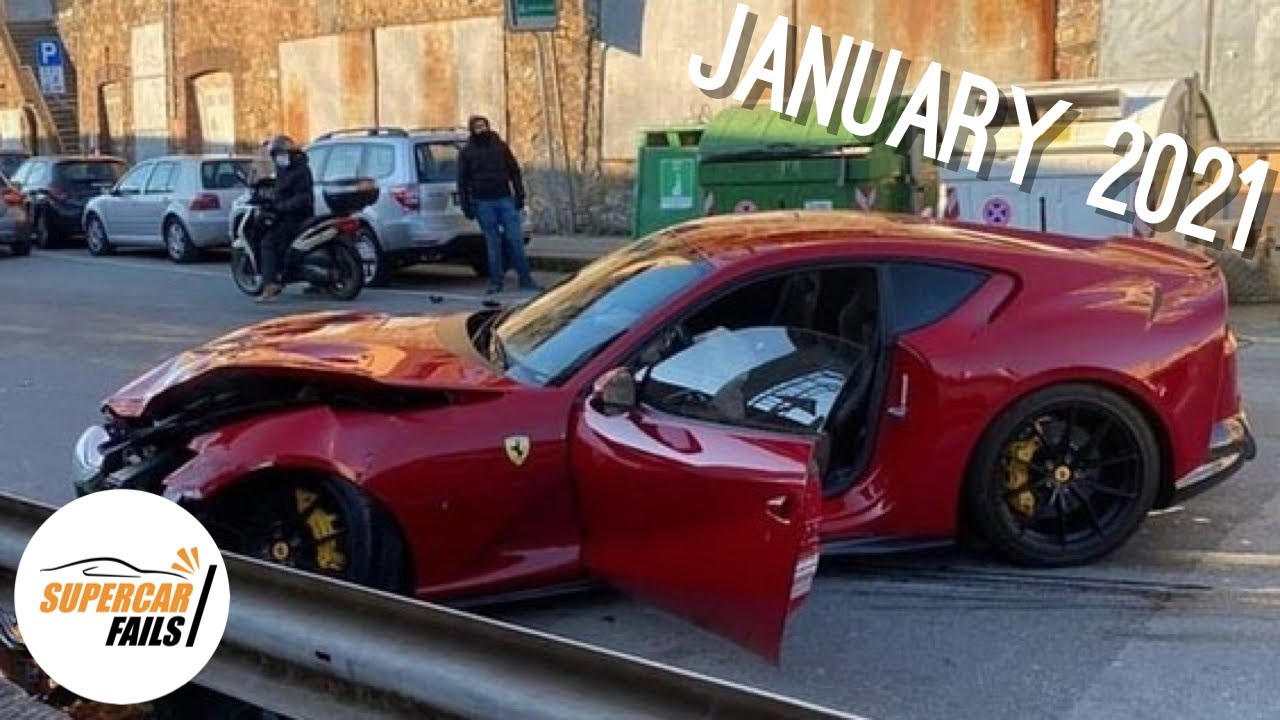 Supercar Fails - Best of January 2021