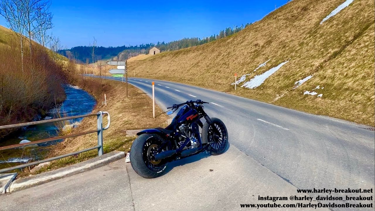Harley Davidson Breakout First Ride year 2019 - YouTube