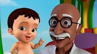 Three Wise Monkeys - Gandhi Jayanti Songs   Kannada Rhymes for Children   Infobells