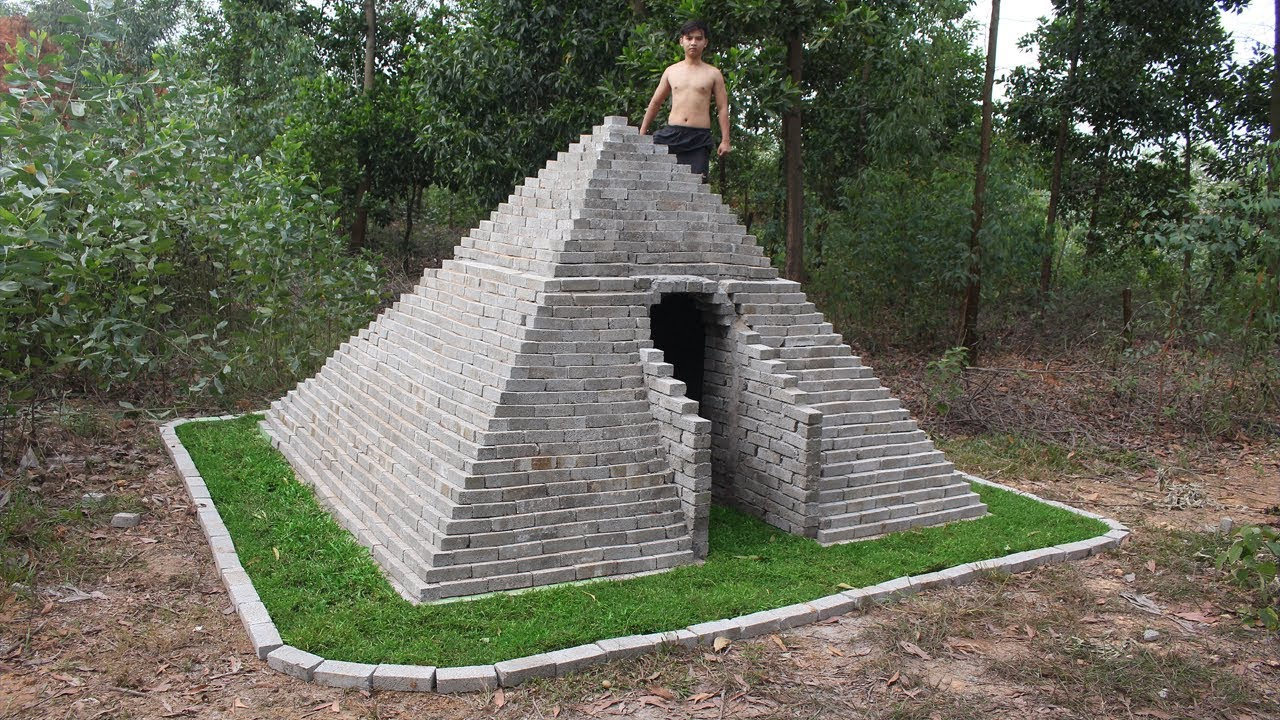 Build Pyramids in The Forest By Ancient Skill on pyramid blueprints, pyramid shape, pyramid painting, pyramid greenhouse, pyramid home, pyramid garden, pyramid tools, pyramid houses in florida, ultra luxury custom home plans, pyramid of success examples, pyramid wallpaper, pyramid architecture, pyramid diet plan, pyramid marketing, pyramid rubik's cube, pyramid tombs, pyramid design, pyramid formula, pyramid of food, pyramid health,