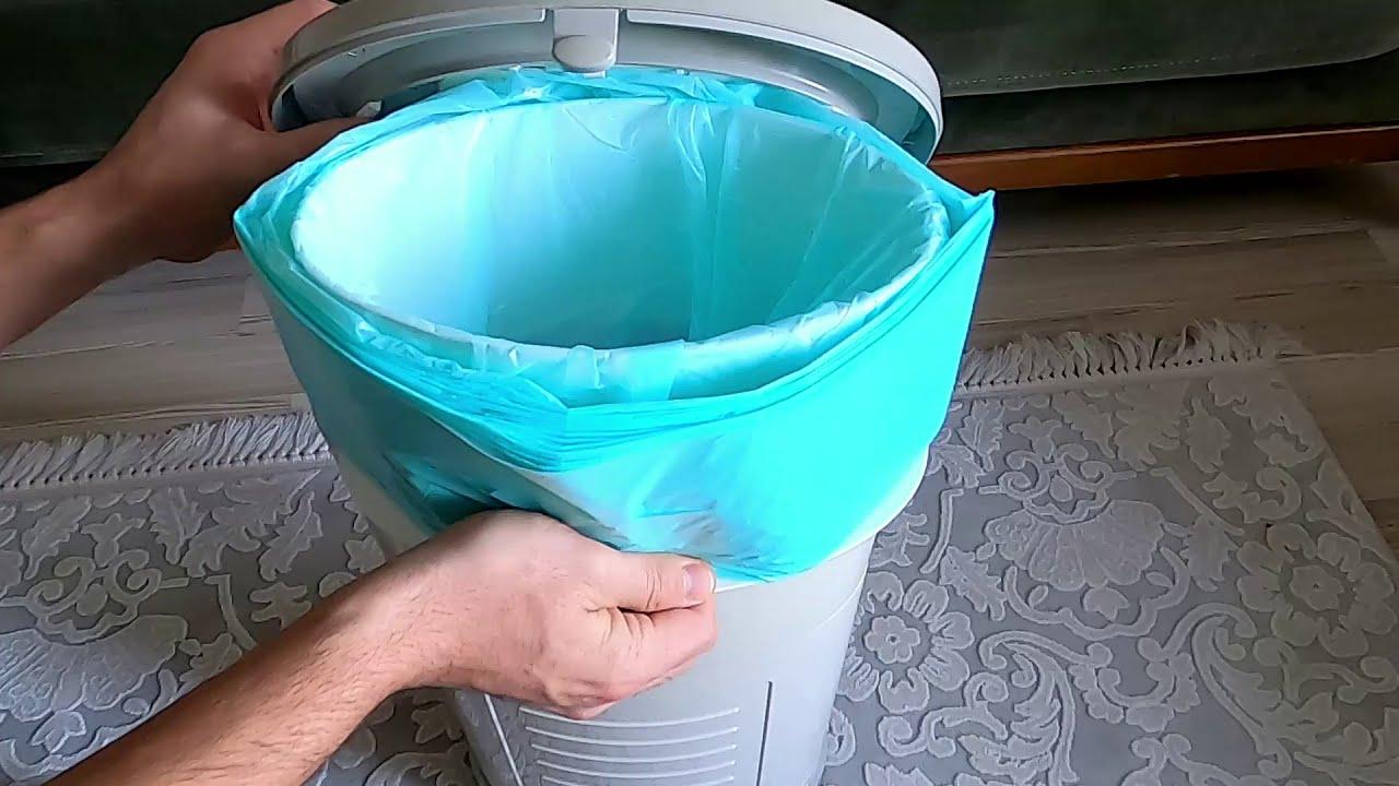 Korbell bebek bezi çöp kovası kullanımı