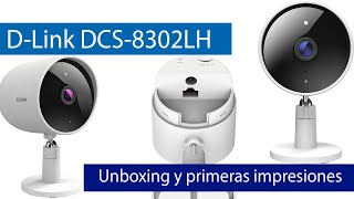 D-Link DCS-8302LH: Cámara IP Outdoor con Full HD 1080p, grabación Cloud gratis y sirena