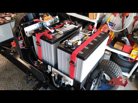 Toro Lawn Tractor Electric Conversion