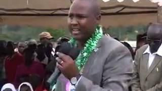 Alfred Keter wax lyrical in Kalenjin