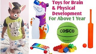 Toys For Brain & Physical Development    Toy Ideas For Babies Above 1 Year    Babies Junction