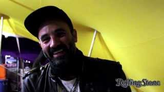 Interview With Frans Borman of Jet Black Camaro At Oppikoppi 2013