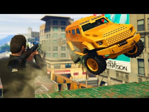 ROCKETS vs INSURGENTS vol3! - (GTA 5 Online)