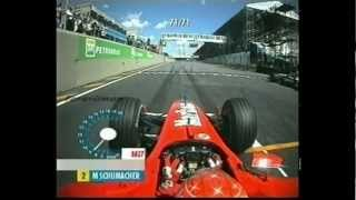 2002 Brazilian Grand Prix onboard start and 5 laps